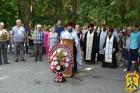 В міському Меморіальному комплексі «Сквер Перемоги» відбулось покладання квітів до Вічного вогню.