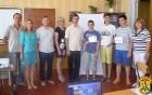 Представники громадської організації ЦеГрІн Південь вручили сертифікати випускникам курсів з вивчення Front-End розробки.