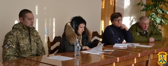 Засідання міської комісії з визнання бійців-добровольців