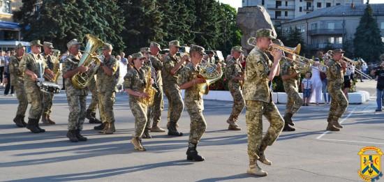 Святкові заходи присвячені виходу військової частини А2227 з зони проведення антитерористичної операції