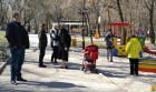 Весняні роботи в міському парку культури і відпочинку «Дружба народів»