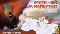 Сьогодні в Україні відзначають День пам'яті героїв Крут