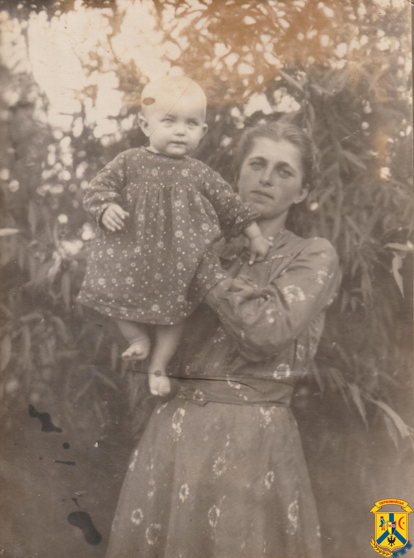 Дівчинка. З архіву родини Островершенків