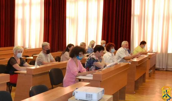 Засідання виконавчого комітету Первомайської міської ради