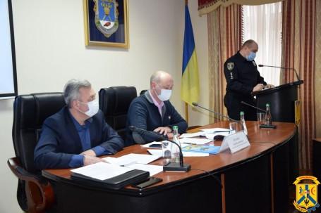 Відбулось засідання регіональної комісії ТЕБ і НС